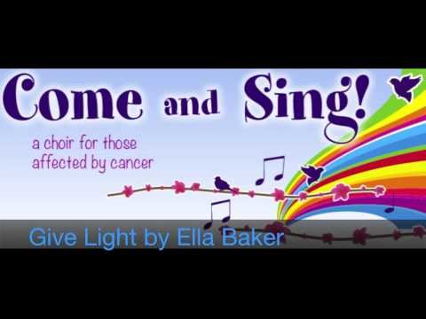 Give Light by Ella Baker sung by The Come and Sing Choir