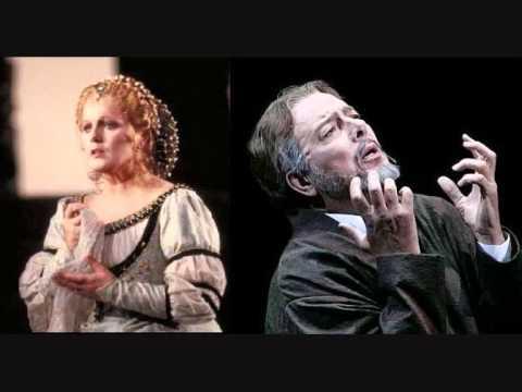 "Katia Ricciarelli & Ferruccio Furlanetto- ACt II-Duet-""Que vois-je! hélas! tu verses des larmes!"""