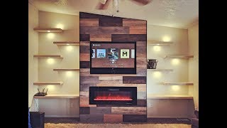 Diy Creation Of Beautiful Accent Wall!