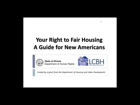 Your Right to Fair Housing: A Guide for New Americans