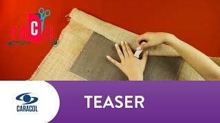 Fácil: Cómo hacer una guirnalda de botones | Caracol Televisión