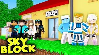 OTWIERAMY SKLEP DLA WIDZÓW NA WYSPIE  | Minecraft Skyblock #8