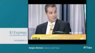 Sergio Moreno Gil en El Expreso tvCanaria.tv
