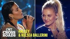 Halsey & Kelsea Ballerini Perform 'Graveyard' | CMT Crossroads