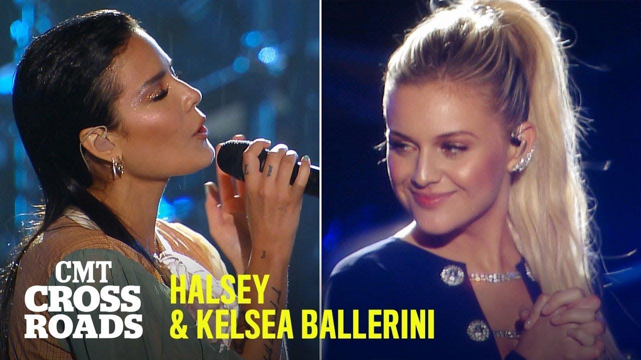Halsey Kelsea Ballerini Perform Homecoming Queen Cmt Crossroads Youtube