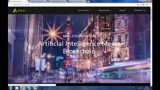 NBAI - проект, предоставляющий организациям и отдельным лицам технологии blockchain и AI