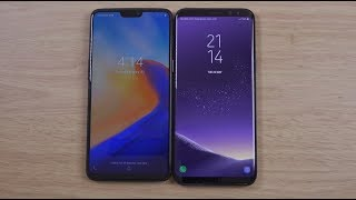 OnePlus 6 vs Samsung Galaxy S8 - Which is Fastest?