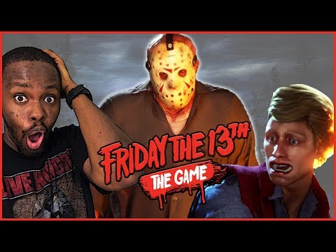HE CAN'T BE KILLED, THE GREAT ESCAPE! - Friday The 13th Gameplay Ep.8