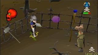 Pretending to do Slayer in the Wilderness