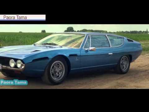 Ламборджини ЭСПАДА 400 GT в 1972 - полный тест-драйв в ТОП Гир - Двигатель V12 звук | ГТК ТВ