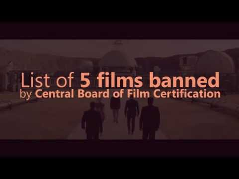 List of 5 films banned by Central Board of Film Certification