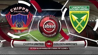 Absa Premiership 2019/2019 | Chippa United vs Golden Arrows