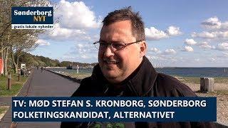 Mød Stefan S. Kronborg, Blans, folketingskandidat, Alternativet