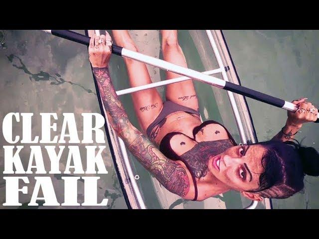 Clear Kayak Fail // HAWAII // Big Island