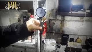 2 часть Измерение эллипса блока цилиндров двигателя 2.4 Додж караван