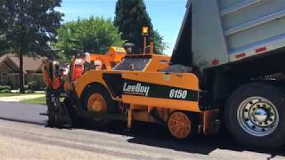 Video still for LeeBoy 6150 Asphalt Paver