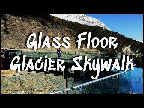 Glass Floor Glacier Skywalk In Jasper, Alberta || Jasper National Park