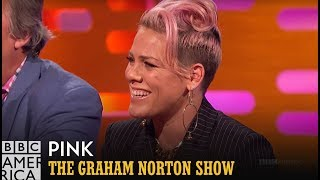 Pink's Email Confusion with Robbie Williams - The Graham Norton Show