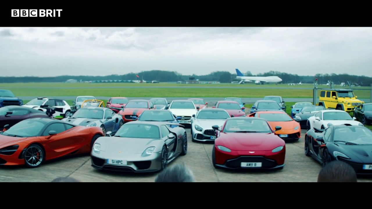 Top Gear – seria 25 w BBC Brit