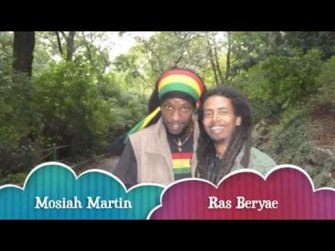 Reggae live music - Mosiah Martin 12.05.2012 Leipzig/Germany