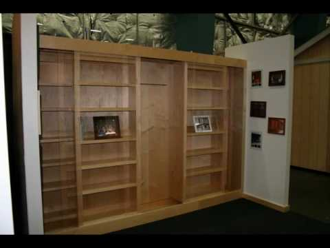The BEST Bookcase Murphy Bed  YouTube
