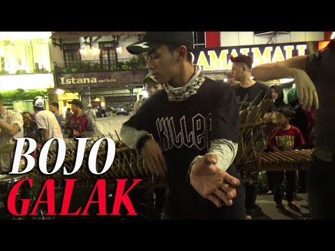 Bojo Galak - Angklung Malioboro ( Pengamen Jogja)