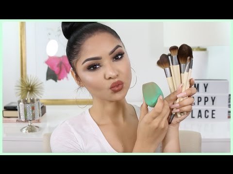 GRWM: Trying New Drugstore Makeup & Brushes