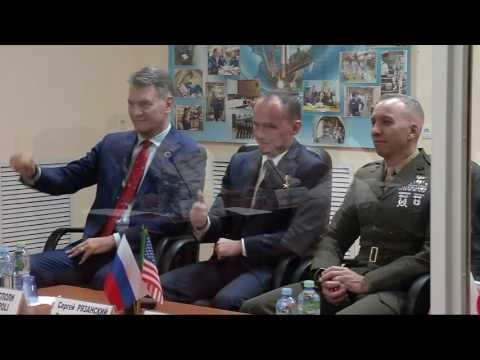 Russian State Commission Meeting and Final ISS Expedition 52/53 Pre-Launch Crew News Conference