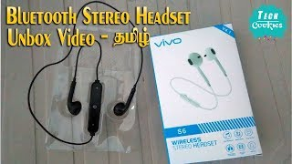 Wireless Stereo Earphones Unboxing Video | Tech Cookies