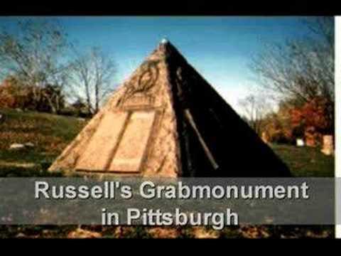 Ch.T.Russell-Bibel-Pyramiden-Melange für Zeugen Jehovas