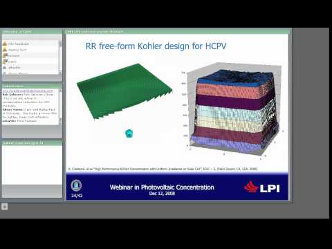 High concentration photovoltaics: potentials and challenges