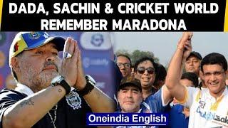 Sachin, Dada remember Maradona | IPL team tweets: Hand of God again | Oneindia News