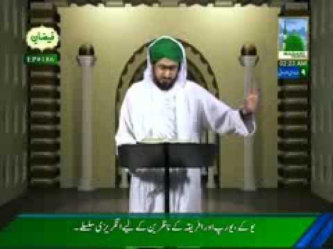 Islamic Speech in English - Topic: Calamities of Tongue - Mureed of Ilyas Qadri