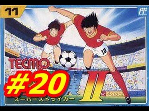 Captain Tsubasa 2 NES #20 Sao Paulo vs Japan (English) HD