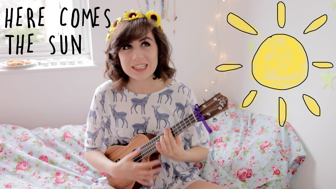 Here Comes The Sun - Ukulele Cover! - YouTube