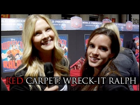 Wreck-It Ralph: Moms on the Red Carpet!