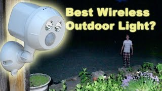 BEST Wireless LED Motion Sensor Light? Mr. Beams Ultra Bright Spotlight Test & Review