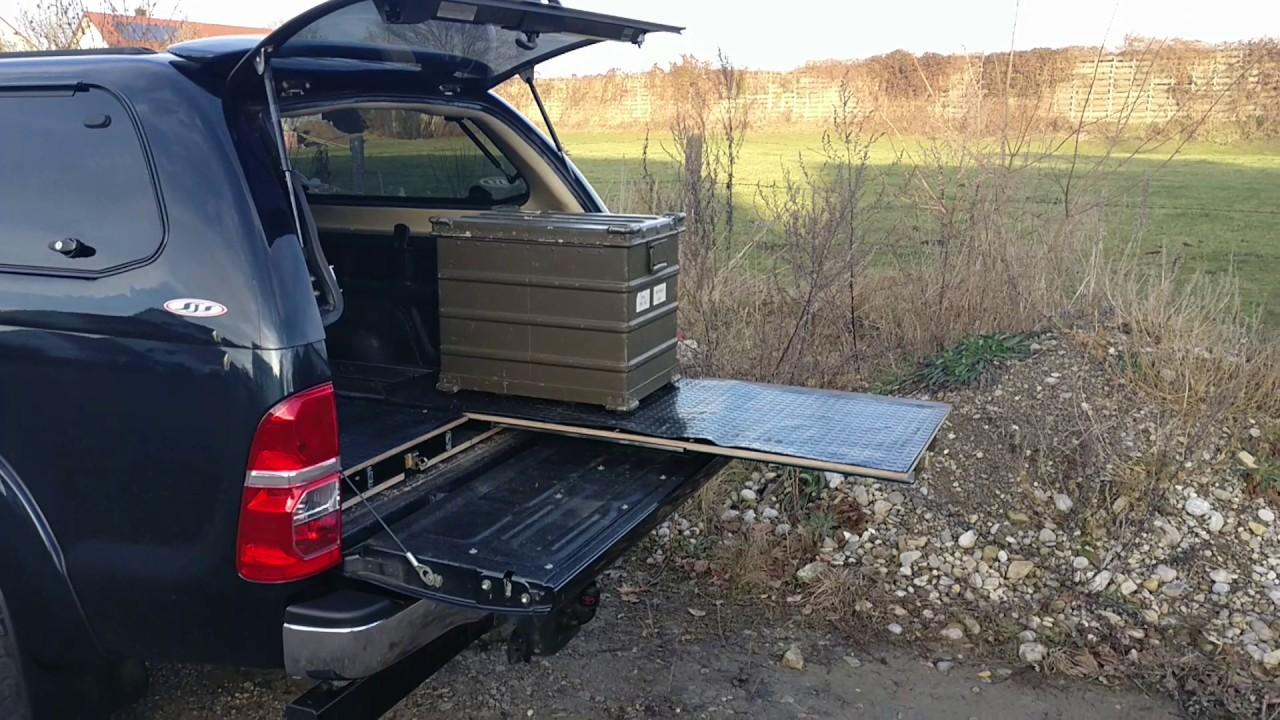 schubladenauszug im pickup youtube. Black Bedroom Furniture Sets. Home Design Ideas