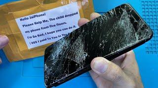 Restore iPhone 7 Plus   Restoration Destroyed Phone   Rebuild Broken Phone