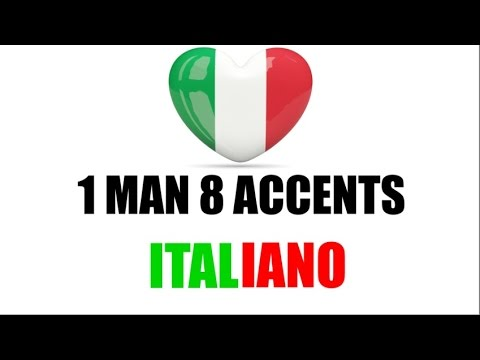 8 Italian Accents - 8 Accenti Italiani