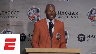 Ray Allen, Steve Nash, Grant Hill, more give Basketball Hall of Fame Press Conferences | ESPN
