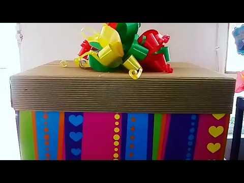 Caja sorpresa- anchetas medellin $70.000