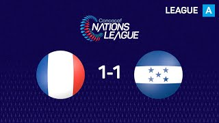 📹 Revive el empate a uno entre Martinica y Honduras