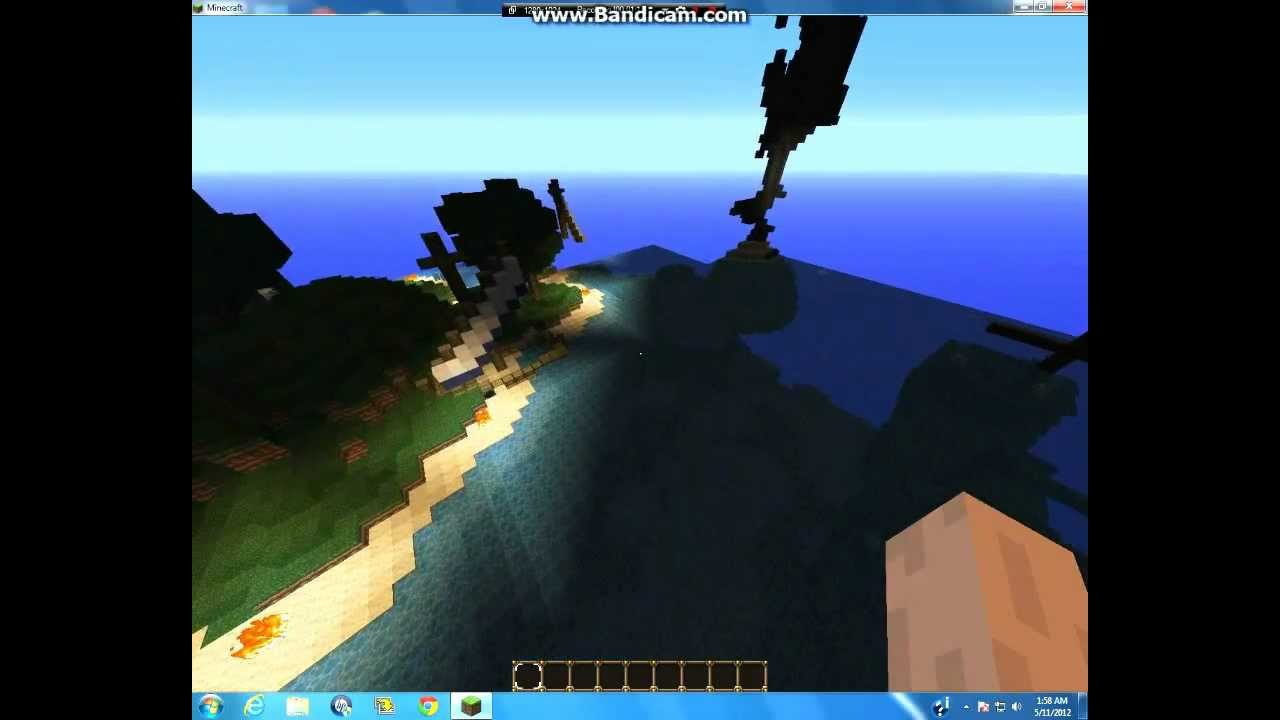 Minecraft Lost in The Bermuda Triangle Spoiler Where the