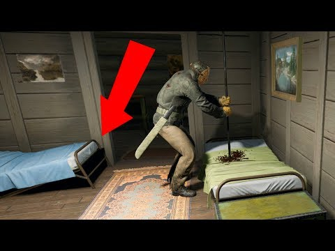 SECRET ESCAPE SPOT FROM JASON! (Friday the 13th The Game)