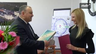 Stypendium za osiągnięcia sportowe dla Małgorzaty Hołub (Politechnika Koszalińska)