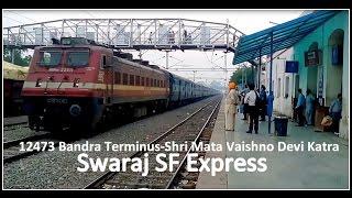 """""""Welcome to PUNJAB""""!!12471 Swaraj SF Express Skipping Rajpura Jn(Gateway of Punjab)"""
