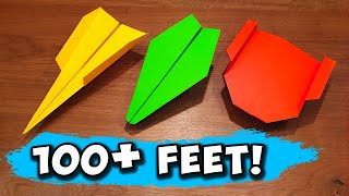 How To Make 5 Epic Paper Airplanes