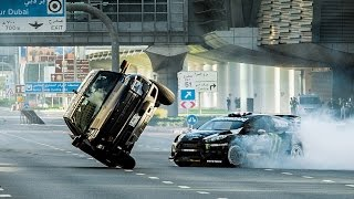 Ken Block Drifts on the streets of Dubai