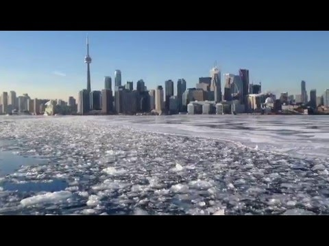 To and from Ward's Island by ferry. Jan 28, 2015